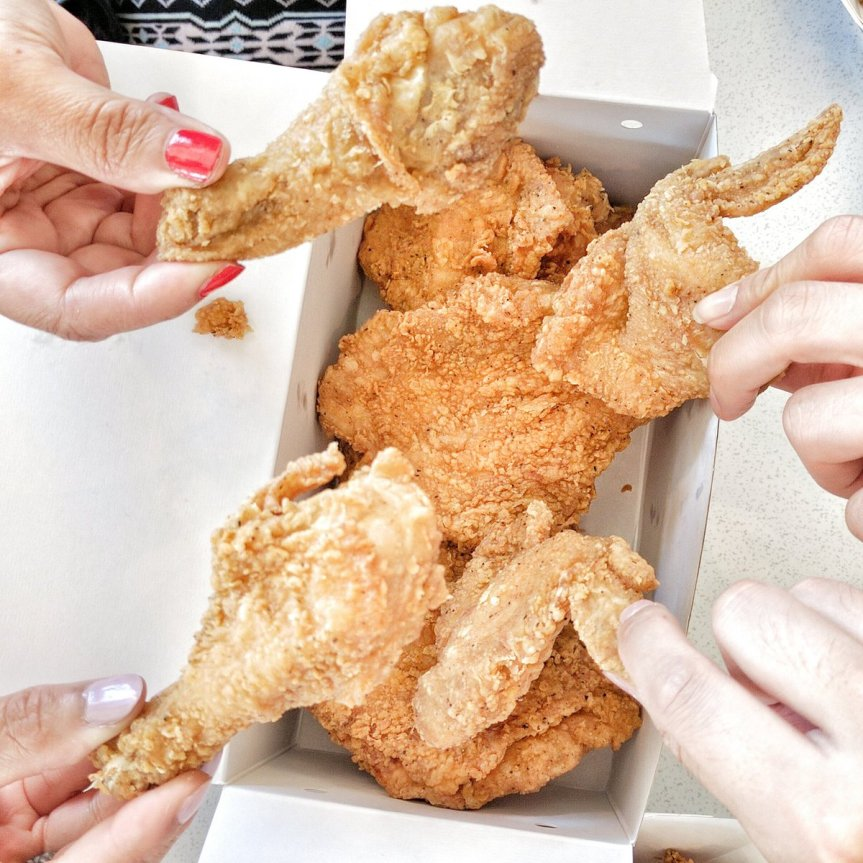Travelling Foodie Eats Mary Brown's Famous Chicken