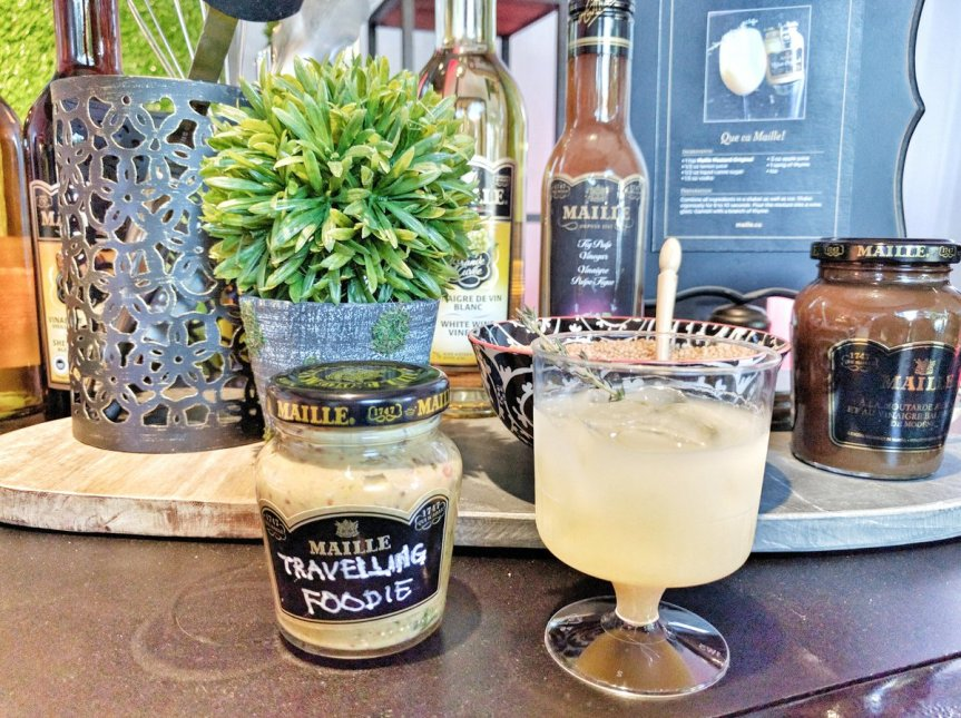 Maille Canada: Travelling Foodie (Make Your Own Mustard) and Mustard Cocktail