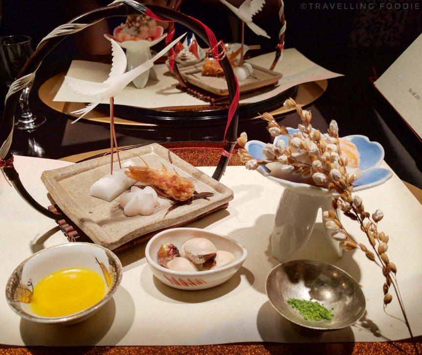 Travelling Foodie eats at Kaiseki yu-zen Hashimoto