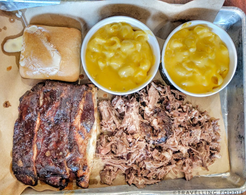 Dickeys Barbecue Pit Three Meat Plate