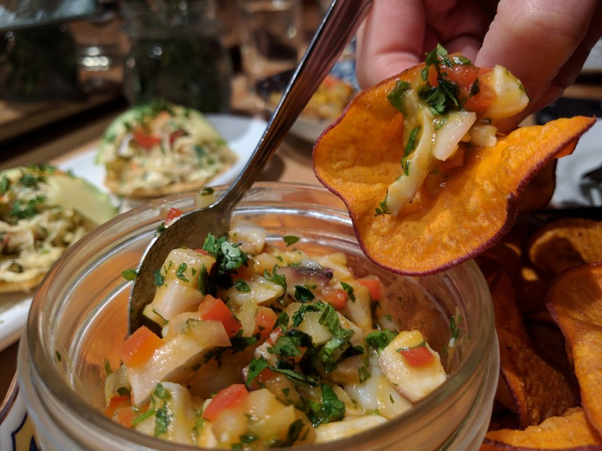 Travelling Foodie Eats Ceviche at Other Mama Las Vegas Nevada
