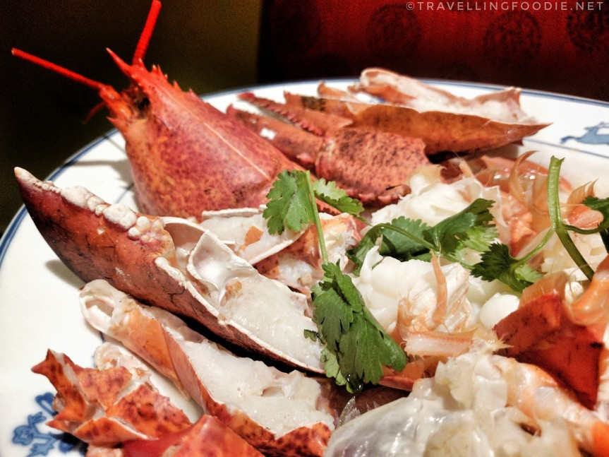 Travelling Foodie Eats Maine Live Lobster at Dragon Noodle Co in Monte Carlo Las Vegas Nevada