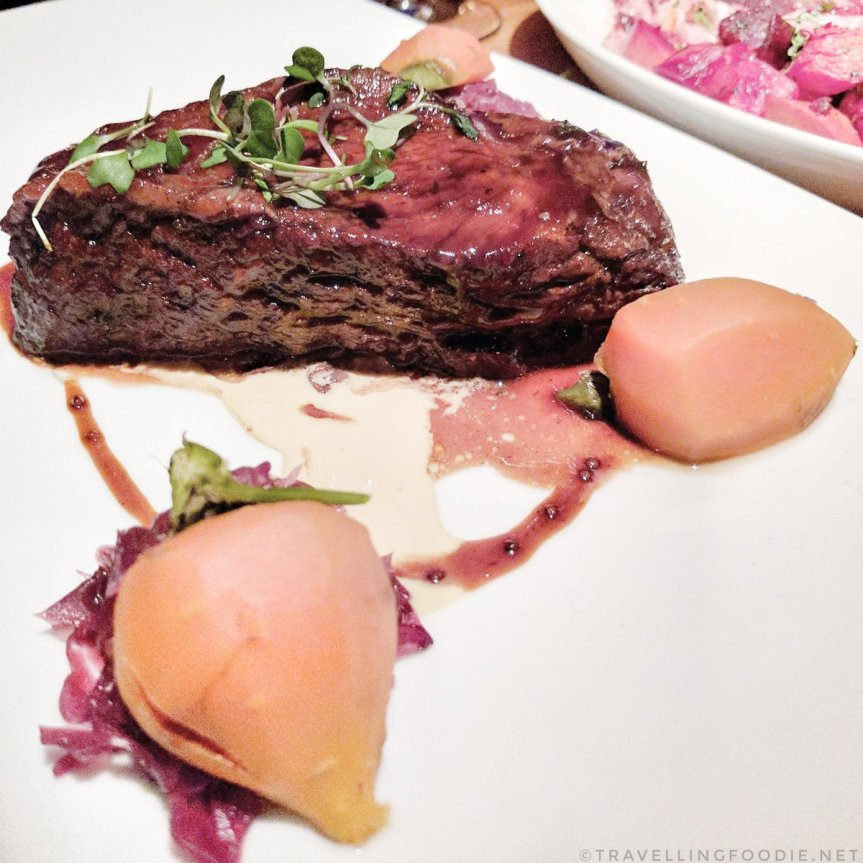 Travelling Foodie Eats GLAZED BEEF SHORT RIB at STK in The Cosmopolitan of Las Vegas