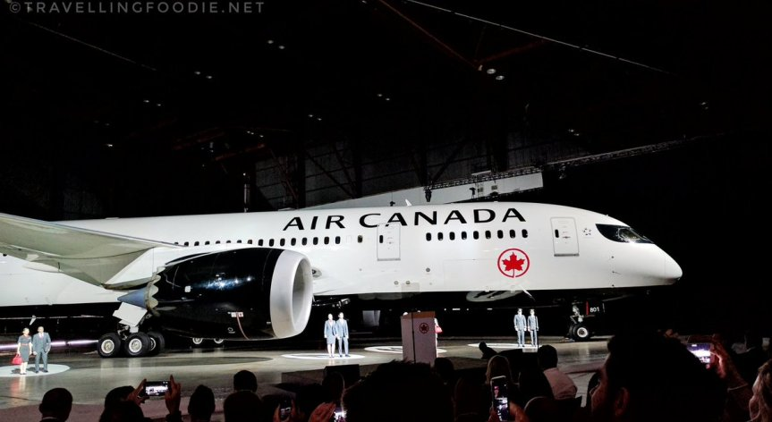 Air Canada Unveils New Livery in Toronto
