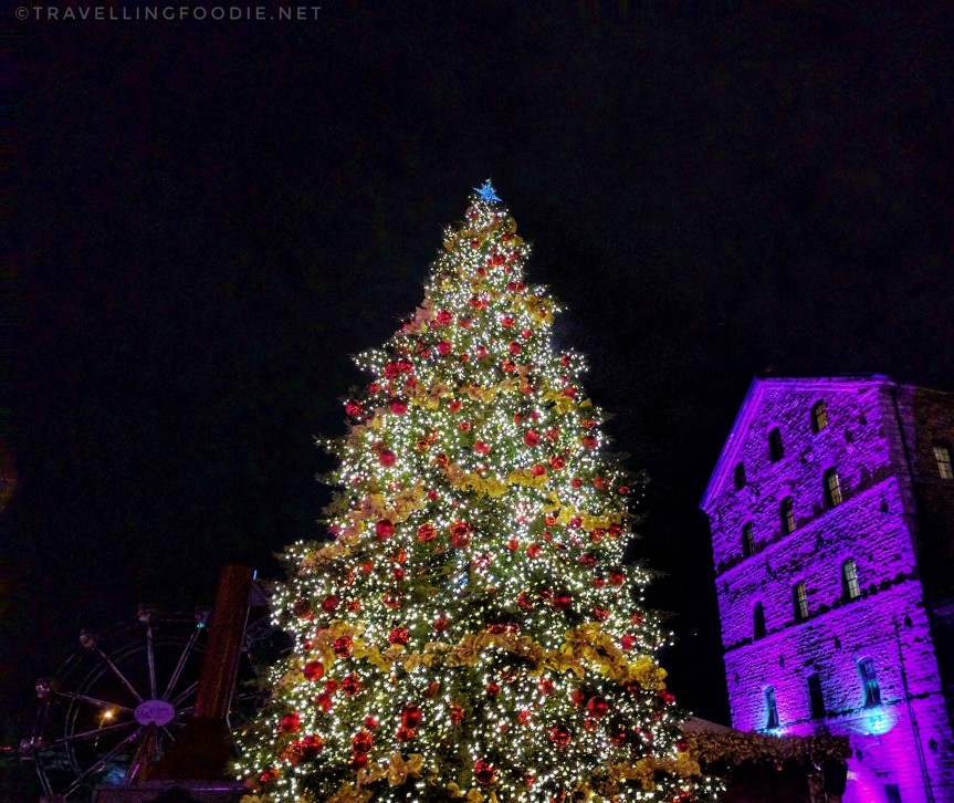 Travelling Foodie visits Toronto Christmas Market at the Distillery District