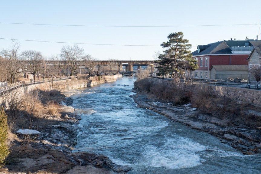 A Winter Day Trip in Port Hope,Ontario